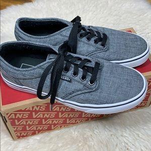 Van's Heather Grey Men's Size 6.5 or Women 8 Shoe